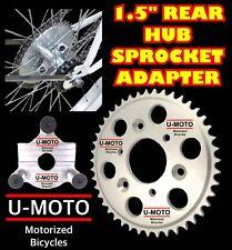 "2-Stroke 66Cc/80Cc Motorized Bike Kit 1.5"" Rear Hub Sprocket Adapter + Sprocket"
