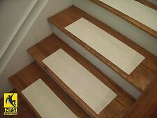 """NFSI High Traction - Vinyl Stair Tread Sets - White (592) -  24"""" x 8"""""""