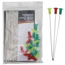 MFH aiguille flèches pour sarbacanne 20 pièce flèches sarbacanne flèches Blowgun