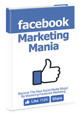 Facebook Marketing Mania PDF E Book with RESELL RIGHT