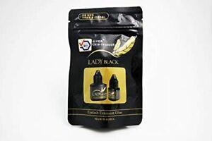 Eyelash Extensions Max Bond Glue / Adhesive Fast Strong Black/ SKY LADY BLACK 5g