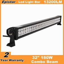 32inch 180W Epistar Combo LED Light Bar Driving Off-road Lamp 4WD UTE Truck Ford
