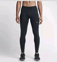 NEW Mens Nike Essential Tight Power Running tights Bottoms black  Size large