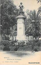 SPAIN - Sevilla - Estatua de Velazquez - Hauser y Menet