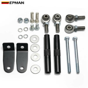 EPMAN Front Stabilizer Bars for Honda Civic EF CRX 88-93 Work with Traction Bars