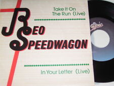 "7"" - Reo Speedwagon Take it on the Run & In your Letter - LIVE MINT PROMO # 6281"