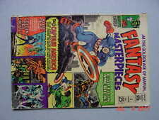 Fantasy Masterpieces # 3    1966    GA Captain America    Low Grade but Complete