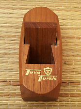 """Ancienne varlope rabot miniature publicitaire """"Tuva Turkis"""" old advertising"""