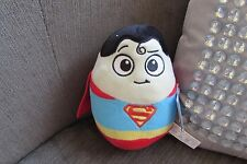 Plush 6 inch DC Super Heroes Superman Egg toy new with tags
