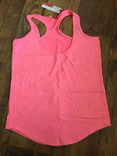 Ladies Elle Pink sports vest - Plus size 16-18 - BNWT gym/running, racer back