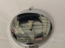 Windmill TG310 Fine Pewter on Round Shape Compact Mirror