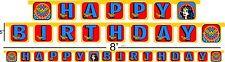Wonder Woman happy birthday party decoration supplies Banner