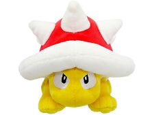 NEW Sanei Super Mario All Star Collection - AC29 - Spiny Stuffed Plush Doll Toy