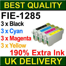 12 INK CARTRIDGE FOR Epson STYLUS S22 SX130 SX235W SX420W SX425W SX435W SX445W
