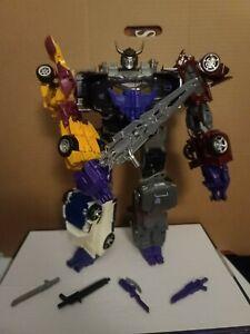 Transformers Combiner Wars Menasor Loose/Complete w/Blackjack Figure
