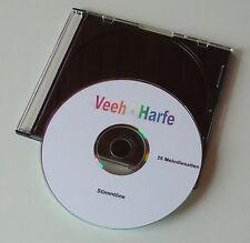 Zither Veeh-Harfe - Stimmtöne auf CD