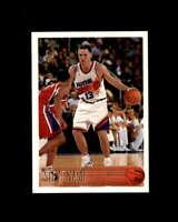 Steve Nash Rookie Card 1996-97 Topps #182
