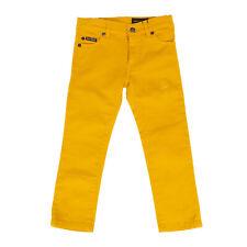 Rrp €195 Dolce & Gabbana Denim Trousers Size 3Y / 95-101Cm Stretch Garment Dye