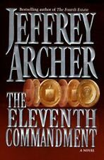 The Eleventh Commandment by Jeffrey Archer (1998, Hardcover)