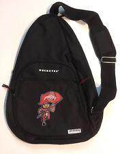 Black Ohio State Shoulder Strap Backpack New