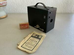 BROWNIE BOX CAMERA No.2 A Model. B EASTMAN KODAK Film No.116 COLLECTABLE VINTAGE