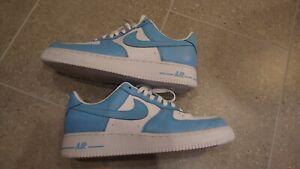 Mens Nike AF1 Baby Blue Size 11 US