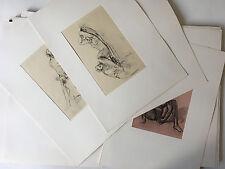 Curiosa. Nouveaux Méandres Intimes, 25 gravures, Lobel-Riche, 25 grav. 60 ex.