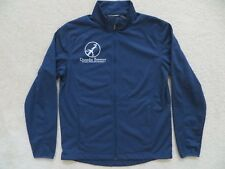 Dunedin Brewery Jacket Mens M Medium Florida Microbrewery Blue Scotland Shirt