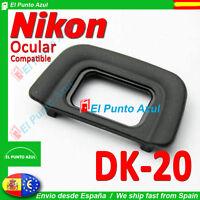 Visor Ocular DK-20 NIKON ★ para D5200 D5100 D3200 D3100 D60 D50 Eyepiece Cup