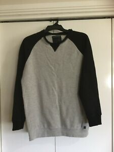 Bauhaus Men's Black & Grey Sweatshirt - Size M