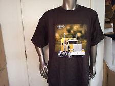 peterbilt new t-shirt gold truck size 2XL