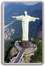Christ the Redeemer Rio De Janeiro Fridge Magnet 01