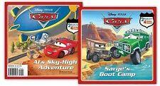 Sarge's Boot Camp/Al's Sky-High Adventure (Disney/Pixar Cars)-ExLibrary