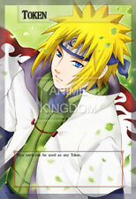 YUGIOH Sexy Anime Orica Token Sexy  Anime Naruto Hokage Namikaze Minato  # 493