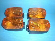 4 x Kreidler Hercules Zündapp 50 80 er Blinker Spinnennetz wie Ulo HQ NEU