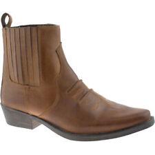 Botas de hombre Gringos de piel color principal marrón