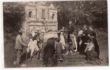 CARTOLINA TERREMOTO IN CALABRIA SETTEMBRE 1905 ALTARE IMPROVVISATO RIF 4844