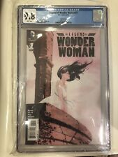 Legend of Wonder Woman #1 CGC 9.8 1:25 Incentive Variant Dustin Nguyen