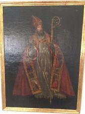 San Lamberto Ölgemälde Religion barocke Darstellung von 1858 spanisch