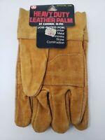 NOS Vintage Cardinal Glove Leather Heavy Duty on Card