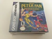 Disney's Peter Pan: Return to Never Land (Nintendo Game Boy Advance, 2002) - NEW