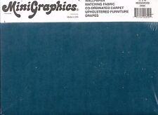 "Carpet - Wedgewood 12"" x 14""  Floor Sheet #2350C dollhouse miniature 1/12 scale"