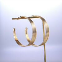 Gorgeous Hoop Earrings for Women Silver,Gold,Rose Gold Jewelry A Pair/set