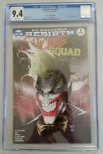 Suicide Squad #1 (DC, 10/16) CGC 9.4 NM (Joker Variant Limited to 4000)