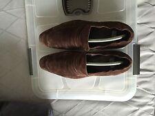 Chaussures PAUL SMITH Daim Marron Taille 9 43 Bon État