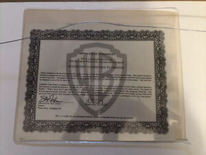 Warner Brothers Bugs Bunny and Elmer Fudd Genuine Production Cel.