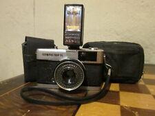 Vintage Olympus Trip 35 Camera w/ Olympus PS-200 Flash & Cases