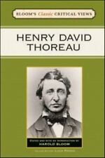 Henry David Thoreau (Bloom's Classic Critical Views)-ExLibrary