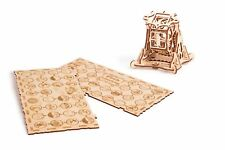 Wood Trick Wheel Of Fortune Luck Mechanical Wooden 3D Puzzle Model Assembly Kit