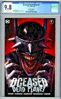 DCeased Dead Planet #1 CGC 9.8 Comic Mint Edition A Ian MacDonald Variant Cover